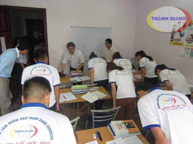 Lớp học tại Thanh Giang Coninon