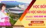 ƯU ĐÃI KHỦNG DU HỌC HÀN QUỐC TRƯỜNG KYONGGI KỲ THÁNG 3, THÁNG 6 NĂM 2020