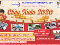 Ưu đãi chào xuân 2020 - Giảm 50% học phí học tiếng tại Thanh Giang khi đi du học Nhật- Hàn -Đức
