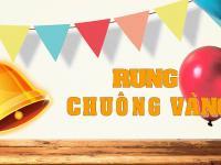 """CHƯƠNG TRÌNH """" RUNG CHUÔNG VÀNG – THANH GIANG COINCON"""""""