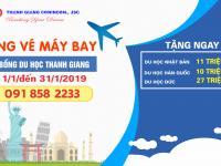 Học bổng khuyến học Thanh Giang - Tặng vé máy bay du học 2019