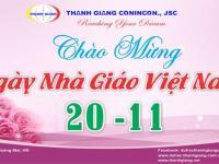 Thanh Giang chào mừng 37 năm ngày Nhà Giáo Việt Nam 20/11