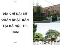 Đại sứ quán Nhật Bản tại Việt Nam ở đâu? Thông tin chi tiết