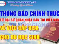 Đại sứ quán Nhật Bản CHÍNH THỨC nhận hồ sơ xin cấp visa từ 1/10/2020