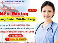 Tuyển sinh Điều dưỡng hệ 2+2 bang Baden Württemberg – Du học nghề HƯỞNG LƯƠNG CAO