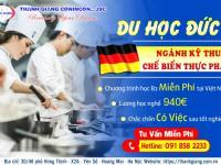 Du học Nghề Đức ngành Kỹ thuật Chế biến thực phẩm – CƠ HỘI MỚI tiềm năng