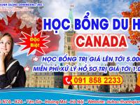 Học bổng du học Canada dành cho học sinh phổ thông trị giá 5000CAD