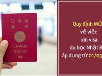 Cập nhật quy định mới nhất về xin Visa đi du học Nhật Bản 2019