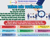 Thanh Giang Conincon thông báo tuyển dụng 2020