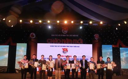 Thanh Giang CONINCON tài trợ Dạ Hội Thanh niên Chào năm mới 2020 tại TT Huế