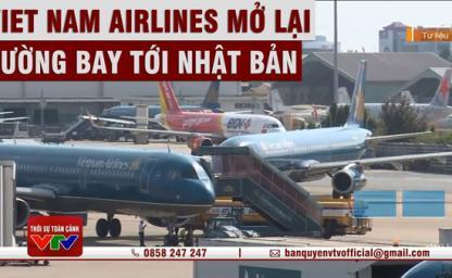 [Hot] Vietnam Airlines bay quốc tế trở lại